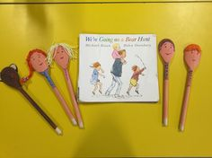 Bear hunt story spoons Measuring Spoons, Projects To Try, Bear, Bears