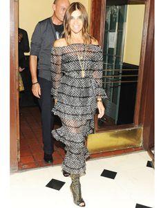 Carine Roitfeld | dress look