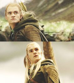 The many faces of Legolas