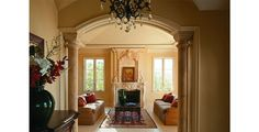 French Eclectic Living Room Example