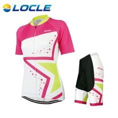 Brand Ropa Ciclismo Women Cycling Jersey Short-sleeve T-shirt Breathable Shorts  Bike Clothing Outdoor MTB Cycling Jersey Set 4f8142338