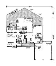 Awesome Deck Space & Spa Room! - Plan #072D-1092 | houseplansandmore.com