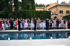 Villa La Foce  Destination Wedding  Bride & Groom Welcome