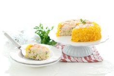 Receta de Tarta de langostinos con Thermomix ®, lo que puede cambiar una buena presentación. Prepárate que te va a encantar.