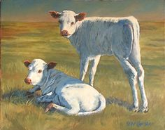 """Thelma & Louise by Kellie Campbell Oil ~ 16"""" x 20"""""""
