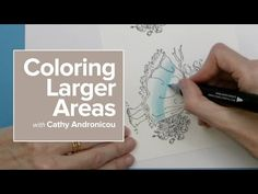 Coloring Larger Areas - with Chameleon Pens