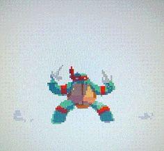 Ninja Turtle Pixel Shuffle