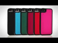 Skech Kameo Leather iPhone Case - we are getting in red, blue and purple.
