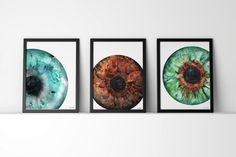 Iris Watercolor Print - Abstract Eye Art - Anatomy Art - Optometry and Ophthalmology Art - Teal Watercolor Art Print от LyonRoadArt Eye Anatomy, Anatomy Art, Art Bleu, Iris Art, Clinic Design, Medical Art, Eye Art, Watercolor Print, Watercolor Eyes