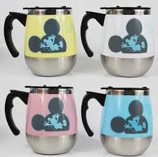 Mickey Mouse Stainless Steel Mugs