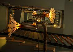 Grappa Flower Lamp Chandelier by Aviad Petel