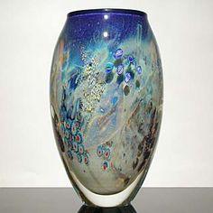 """Inhabited Planet"" vase by Josh Simpson"