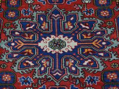 Persian Nahavand 100 Percent Wool Hand Knotted Oriental Rug- Product:4-4-x6-3-Persian-Nahavand-100-Percent-Wool-Hand-Knotted-Oriental-Rug-Sh25948