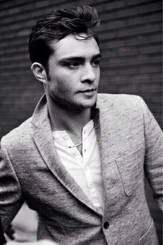 Chuck Bass -- reminds me of James Dean in this photo