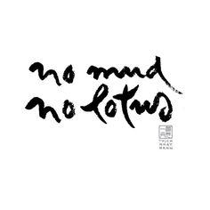 """amordragon: """"There is the mud, and there is the lotus that grows out of the mud. We need the mud in order to make the lotus."""" Thich Nhat Hanh"""