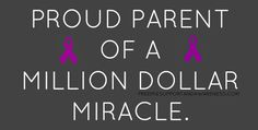 I'm that million dollar miracle!                                                                                                                                                                                 More
