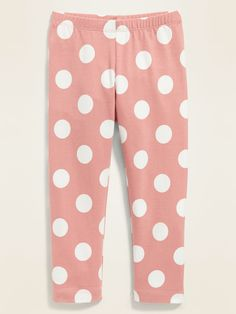 Shop Old Navy's Printed Jersey Leggings for Toddler Girls : Elasticized waistband. , All-over print varies by color., Soft-washed, lightweight jersey, with comfortable stretch. Toddler Girl Gifts, Old Navy Toddler Girl, Toddler Boy Fashion, Toddler Girl Style, Baby Girl Fashion, Toddler Stuff, Baby Girl Jeans, Baby Girl Shoes, Girls Jeans