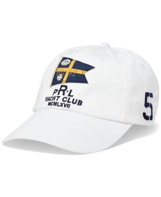 54847dbd Polo Ralph Lauren Nautical Sports Cap Men's Hats, Sports Caps, Men's  Accessories, Men's