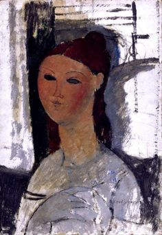 Portrait of a young woman, seated  Maker: Modigliani, Amedeo; painter; Italian artist, 1884-1920  Category: painting  Name: painting  Date: circa 1915