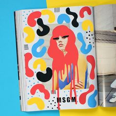 Illustrations on fashion photography and ads on Behance