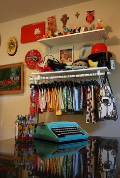 Sewing Room by seahoney, via Flickr
