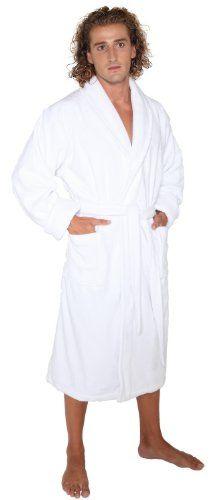 Heavy Terry Cloth Bathrobe Womens