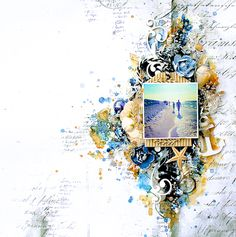 Hello dear readers, have you seen the new moodboard over at Mixed Media & Art? It's amazing as always, each of this beautiful blogs challenges has my mind racing with ideas and this month was no diffe