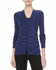 Space+Dye+Cashmere+Cardigan++by+Michael+Kors+at+Neiman+Marcus.