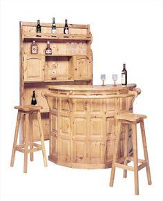 Piattaia rustica adattare per un locale rustico o un angolo bar interamente in legno massello for Angolo bar ikea