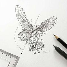 Sketchy Stories – Les jolis animaux géométriques de Kerby Rosanes (image)