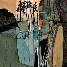 Judith Bergerson JackPine Studio art and inspiration Landscape Drawings, Art Drawings, Fine Art Drawing, Landscape Artwork, Drawing Artist, Arte Disney, Tree Art, Art Studios, Watercolor Art