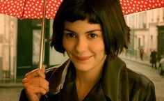 Audrey Tatou in Amélie (2001, Jean Pierre Jeunet) - when art-house cinema finally became appealing to a broader audience.