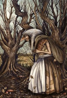 """""""Old Ginny"""" The Fantasy Art of Marc Potts"""