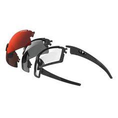Tifosi Escalate S.F.H. Sunglasses - Matte Carbon