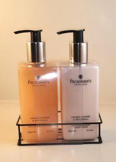Pecksniff's Ginger Flower & Patchouli Nourishing Hand Wash & Body Lotion Set 10.1 oz Pecksniffs http://www.amazon.com/dp/B00IJX949S/ref=cm_sw_r_pi_dp_nwMpwb1HCKGCW