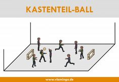Ballspiel: Kastenteil-Ball Sport Snacks, Kids Gym, Karate, Volleyball, Yoga, Primary School, School Stuff, Material, Training
