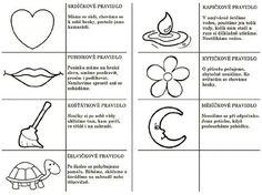 Výsledek obrázku pro pravidla chování v mš Kindergarten, Preschool, Letters, Education, Kids, Young Children, Children, Letter, Kid