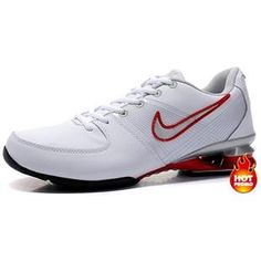 www.asneakers4u.com Mens Nike Shox R2 White Red Grey Black