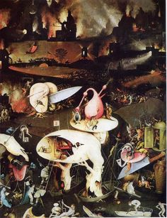 artstoria Hieronymus Bosch The Garden of Earthly Delights