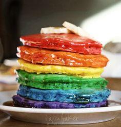 The Original Rainbow Pancakes!,