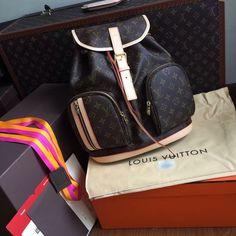 53e4f6edf Designer Bags, Luxury Handbags, Louis Vuitton Monogram, Rebel, Wallets,  Backpack, Self, Luxury Purses, Bag Pack