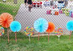 Candyland Party Entrance Decor