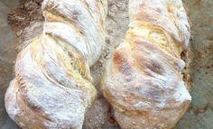 Recept: a tökéletes ciabatta kezdőknek is! Ciabatta, Bread Recipes, Cookie Recipes, Healthy Homemade Bread, Croissant Bread, Dessert Sauces, Hungarian Recipes, Finger Food Appetizers, Bread And Pastries