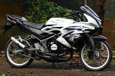 Modifikasi Motor Ninja Rr Jari Jari Hijau Modifikasi Motor Ninja