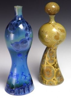 Amazing Porcelain Shapes and Crystalline Glazes – Josh Pehrson Ceramics