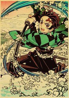 Demon Slayer: Kimetsu no Yaiba Tanjirou Nezuko Anime Poster - 42X30cm / E169 14