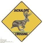 "Jackalope Crossing Sign by Crossings. $12.99. Sturdy .032 aluminum sign with rounded corners. 12"" x 12"" screen printed on caution yellow. This sign is screen printed isare suitable for indoor or outdoor use. Pre-drilled hole for hanging. Features a picture of a Jackalope. Jackalope Crossing Sign This is a brand new sign with the following features: 12"" x 12"" screen printed on caution yellow Sturdy .032 aluminum sign with rounded corners and drilled hole for hanging It features..."