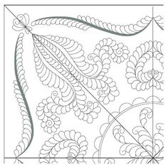 How to design a wholecloth quilt by Renae Allen - Quarto Decennie  http://weallsew.com/2013/12/26/how-to-design-a-wholecloth-quilt-renae-allens-quartro-decennie/
