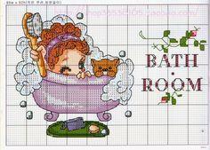 em seus comentários - Dinha Ponto Cruz - bem vindos deix Cross Stitch Boards, Cross Stitch Needles, Cross Stitch Art, Counted Cross Stitch Patterns, Cross Stitching, Cross Stitch Embroidery, Everything Cross Stitch, Stitch Doll, Kawaii Crafts