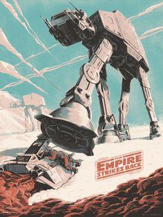 The Empire Strikes Back byJuan Esteban Rodríguez